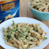 Healthy Chicken Penne Alfredo #betterforyou