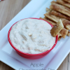 Apple Cheesecake Dip with Pie Crust Dippers