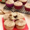 Apple Butter Stuffed Cinnamon Muffins and Giveaway