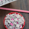 Chocolate Raspberry Muddy Buddies