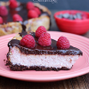 Chocolate Covered Raspberry Cheesecake