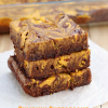 Pumpkin Cheesecake Swirl Brownies