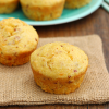 Bacon Cheddar Ranch Cornbread Muffins