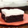 Skinny Chocolate Cherry Coke Poke Cake