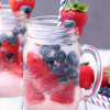 Blueberry Strawberry Spritzer