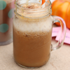 Salted Caramel Pumpkin Spice Frozen Coffee