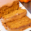 Salted Caramel Pumpkin Bread