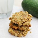 Zucchini Banana Almond Breakfast Cookies