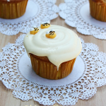 Honey Vanilla Cupcakes #disneywinnie