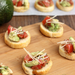 Avocado Bruschetta and Giveaway