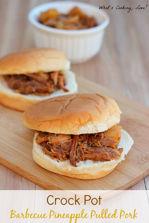 Crock Pot Barbecue Pineapple Pulled Pork Whats Cooking Love