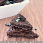 Mint Oreo Truffle Bark