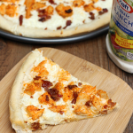 Buffalo Chicken Bacon Ranch Pizza