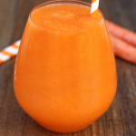 Apple Peach Carrot Smoothie