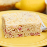 Lemon Raspberry Crumb Coffee Cake