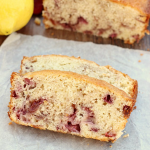 Lemon Strawberry Swirl Bread