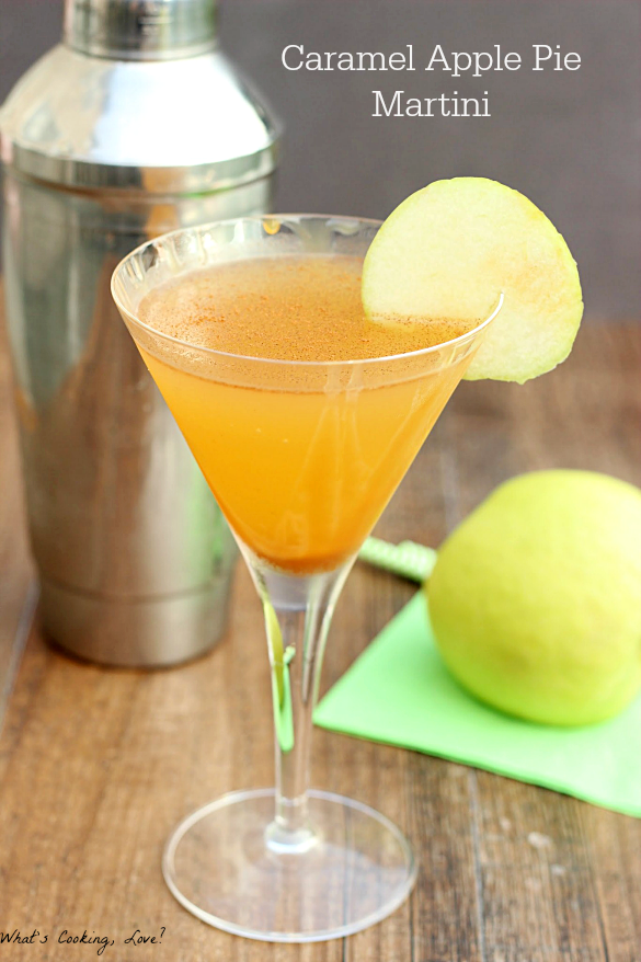 Caramel Apple Pie Martini Whats Cooking Love