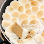 White Chocolate Reese's S'mores Dip