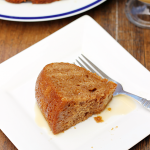 Salted Caramel Apple Cider Bundt Cake