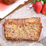 Strawberry Margarita Banana Bread