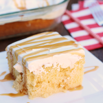 Apple Cider Poke Cake